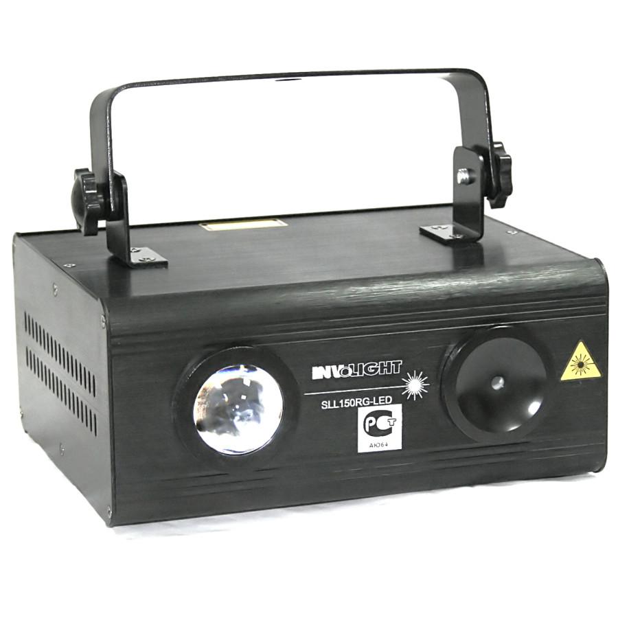Involight SLL150RG-LED - лазерный эффект