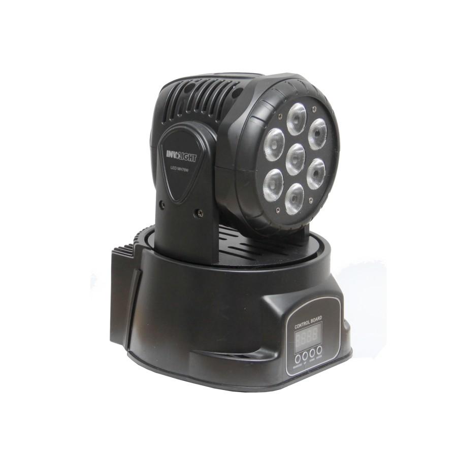 Involight LED MH78W - LED вращающаяся голова, 7x8 Вт