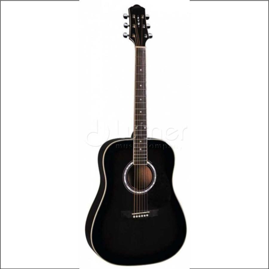 DG220BK Акустическая гитара Naranda