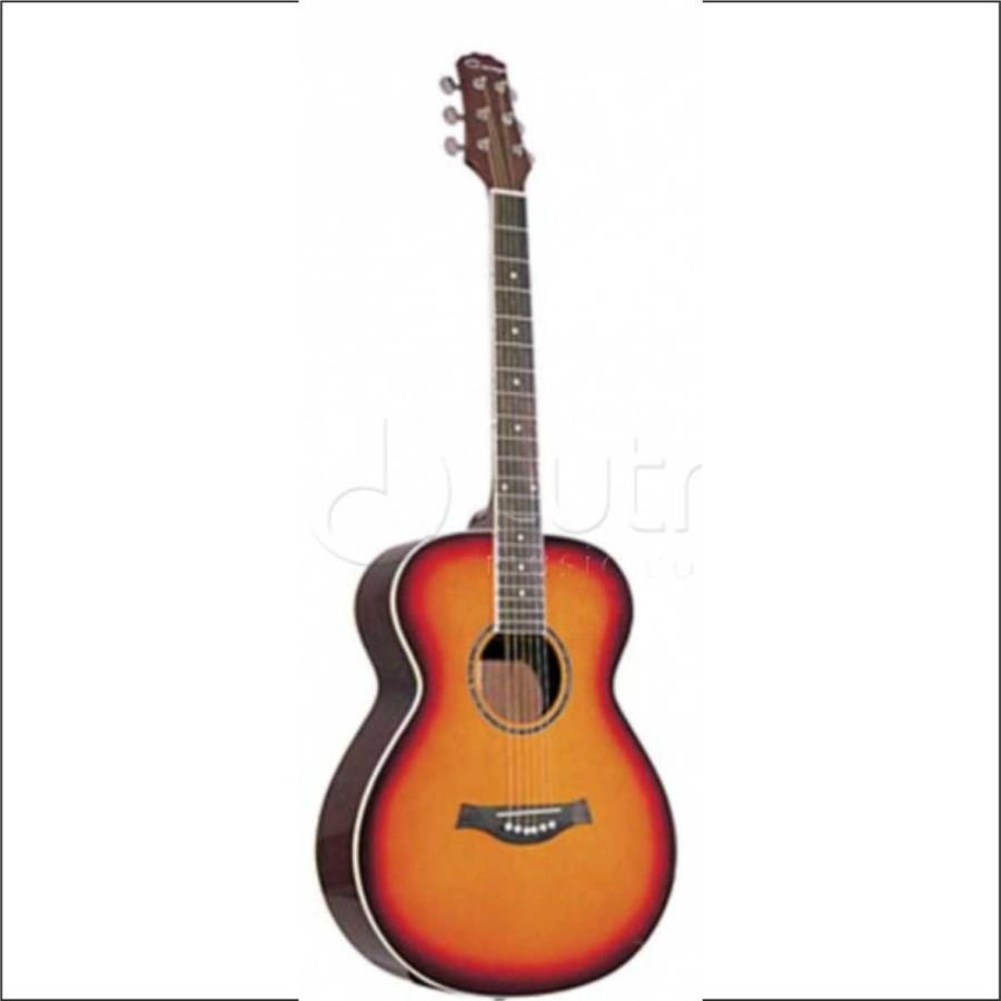 F562-BS Акустическая фолк-гитара, Caraya