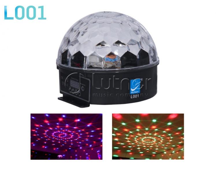 L001 Светодиодный эффект «магический шар», 6x3Вт, Big Dipper