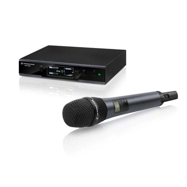 Sennheiser EW D1-835S-H-EU - цифровая вокальная радиосистема с ручным передатчиком