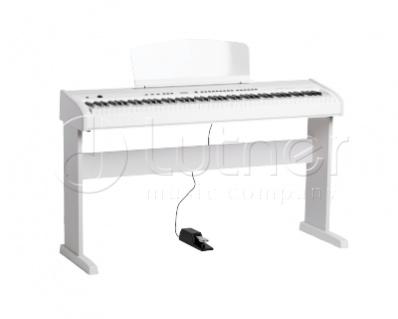 438PIA0704 Stage Studio Цифровое пианино, белое, со стойкой Orla