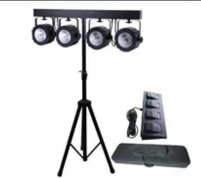 Involight SBL5000COB - 4х LEDPAR 30 Вт COB RGB