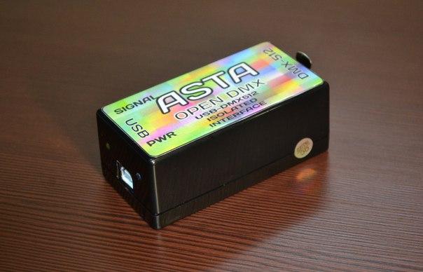 USB DMX Контроллер ASTA 2